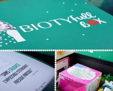 Le biotyfull box de Novembre : l'Audace