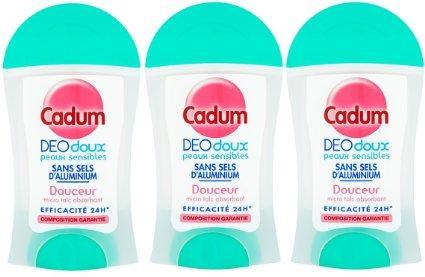 Cadum: enfin un déodorant doux à petit prix?