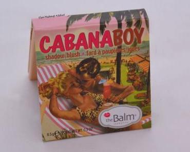 Blush CabanaBoy de TheBalm : tu es si joli !