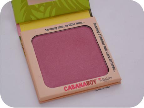 Blush CabanaBoy TheBalm 3