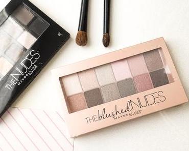 The Blushed Nudes de Gemey | La palette qui sent le Printemps