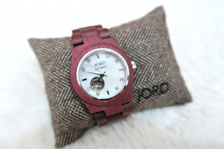 Ma montre en bois je la kiffe ! Jord Woodwatches, vous connaissez ?