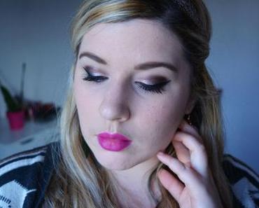 Pink/Burgundy Makeup {Gwen Stefani – Urban Decay)