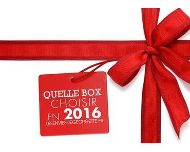 Quelle box beauté choisir en 2016 ?