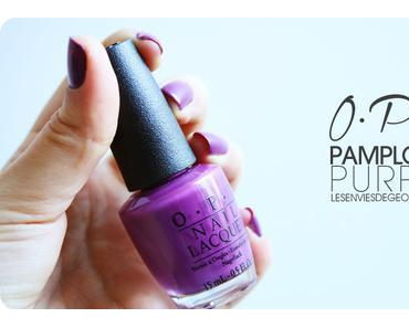 Vernis OPI Pamplona Purple