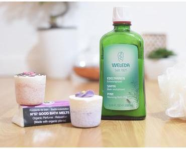 Mes produits naturels pour le bain