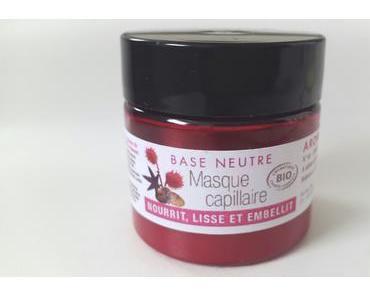 La Base Masque Capillaire Bio de chez Aroma-Zone en Test
