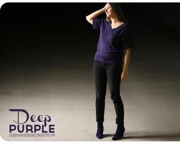 Deep Purple : du violet dans mon dressing