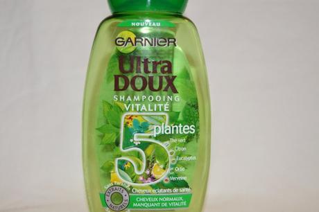 Shampoing Ultra Doux 5 plantes // Garnier