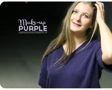 Maquillage violet avec la Vice 4 d'Urban Decay