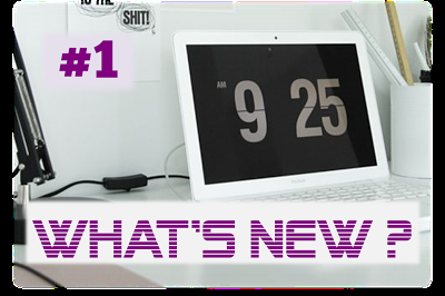 | WHAT'S NEW | #1