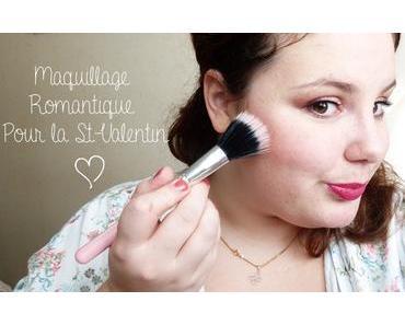 Maquillage Romantique pour la Saint Valentin | Tutoriel