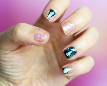 Shattered Glass, la nouvelle tendance Nail Art