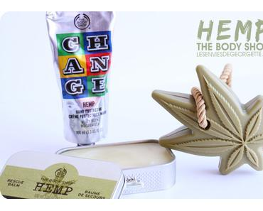 Hemp hemp hemp ! Le chanvre est chez The Body Shop !