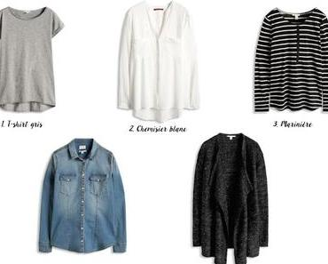 Les 10 indispensables de mon dressing