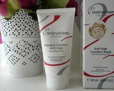 Une plus jolie peau avec le masque confort anti-âge Embryolisse
