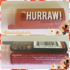 Hurraw !…J'ai les lèvres douuuces!