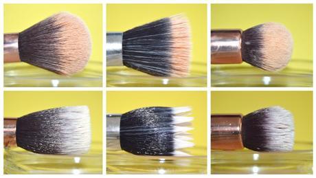 Bain nettoyant pinceaux - Avant/Après