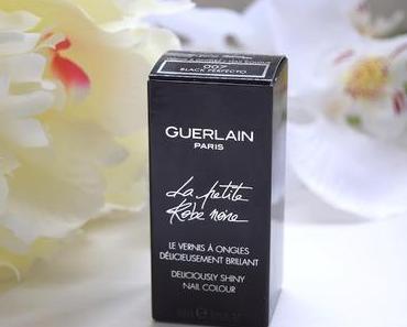 La Petite Robe Noire : Vernis Parfumé de Guerlain