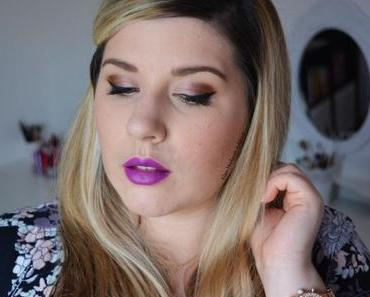 Luminous Champagne Makeup {BareMinerals – The Instant Attraction}