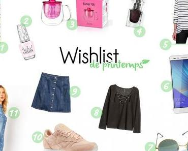 Ma wishlist du printemps ❀