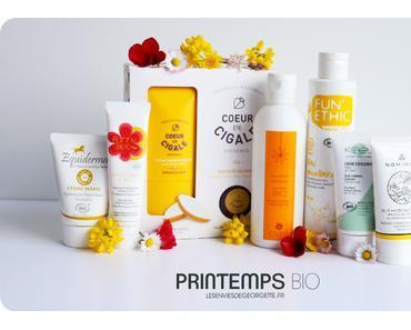 Petite sélection de produits pour le printemps