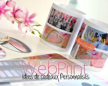 WebPrint : Idées de cadeaux personnalisés pour Beautyaddict (+surprise)