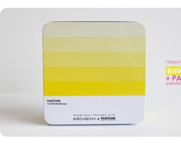 Happiness Therapy avec Birchbox et Pantone