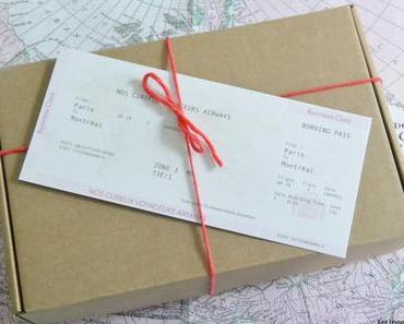 [Unboxing] Nos curieux voyageurs d'avril…