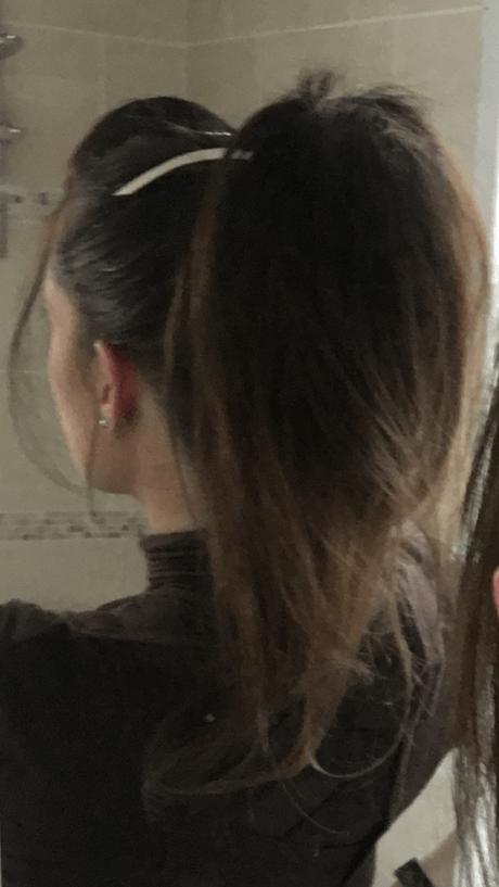 Ellia Rose cheer ponytail