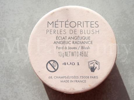 Les perles de Blush Météorites par Guerlain