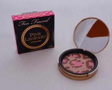 Pink Leopard de Too Faced : un bronzer? un blush? un highlighter?