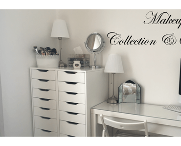 ✰ My Makeup Collection et Storage 2016 ✰
