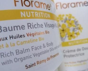 La gamme nutrition de Florame : un bonheur pour les peaux tiraillées