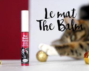 Le rouge à lèvres mat par The Balm