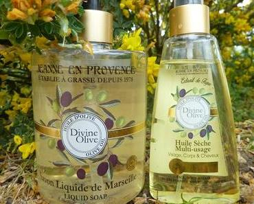 Gamme Divine Olive de Jeanne en Provence : on dirait le sud !!