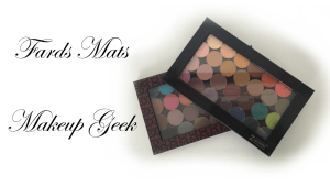 ✰ Revue : Fards à paupières Mattes Makeup Geek ✰