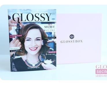 Glossybox de mai : Secret Studio