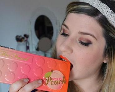 Warm Spring Makeup {Sweet Peach Too Face}