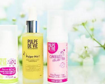 Ma routine de soin visage bio Pulpe de Vie pour peau mixte à grasse (+ concours !)
