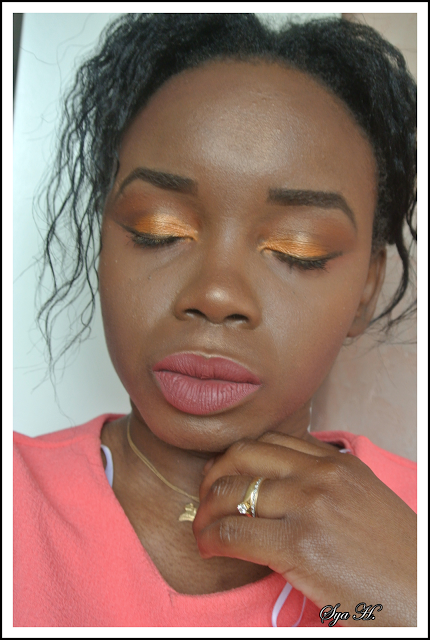 Monday Shadow Challenge #13 :  Tequilla Sunrise