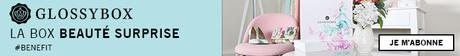 GLOSSYBOX, miniature de parfum, coffret maquillage, coffret parfum, coffret beaute, coffret