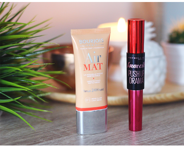 1 top / 1 flop • Air Mat Bourjois & Push up Drama Maybelline