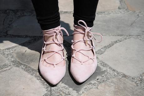 Les chaussures à lacets