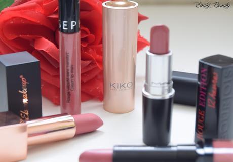 Ma sélection de 6 rouges à lèvres rouges du moment