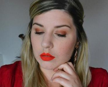 Warm Coral Makeup {Sweet Peach}