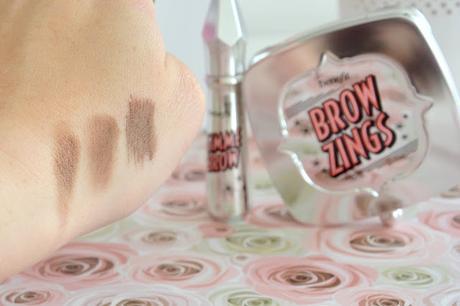 Des sourcils parfaits avec Benefit : Brow zings et Gimme Brow
