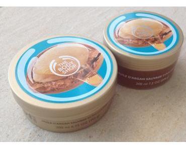 La gamme à l'huile d'argan de The Body Shop, des soins qui sentent bon l'été!