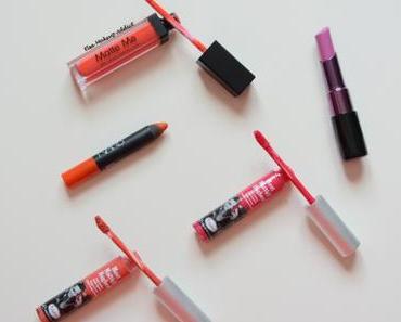 Mes 5 Rouges à lèvres de l'été !