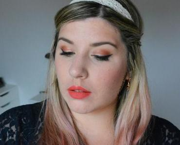 Luminous Peachy Makeup {Sweet Peach}